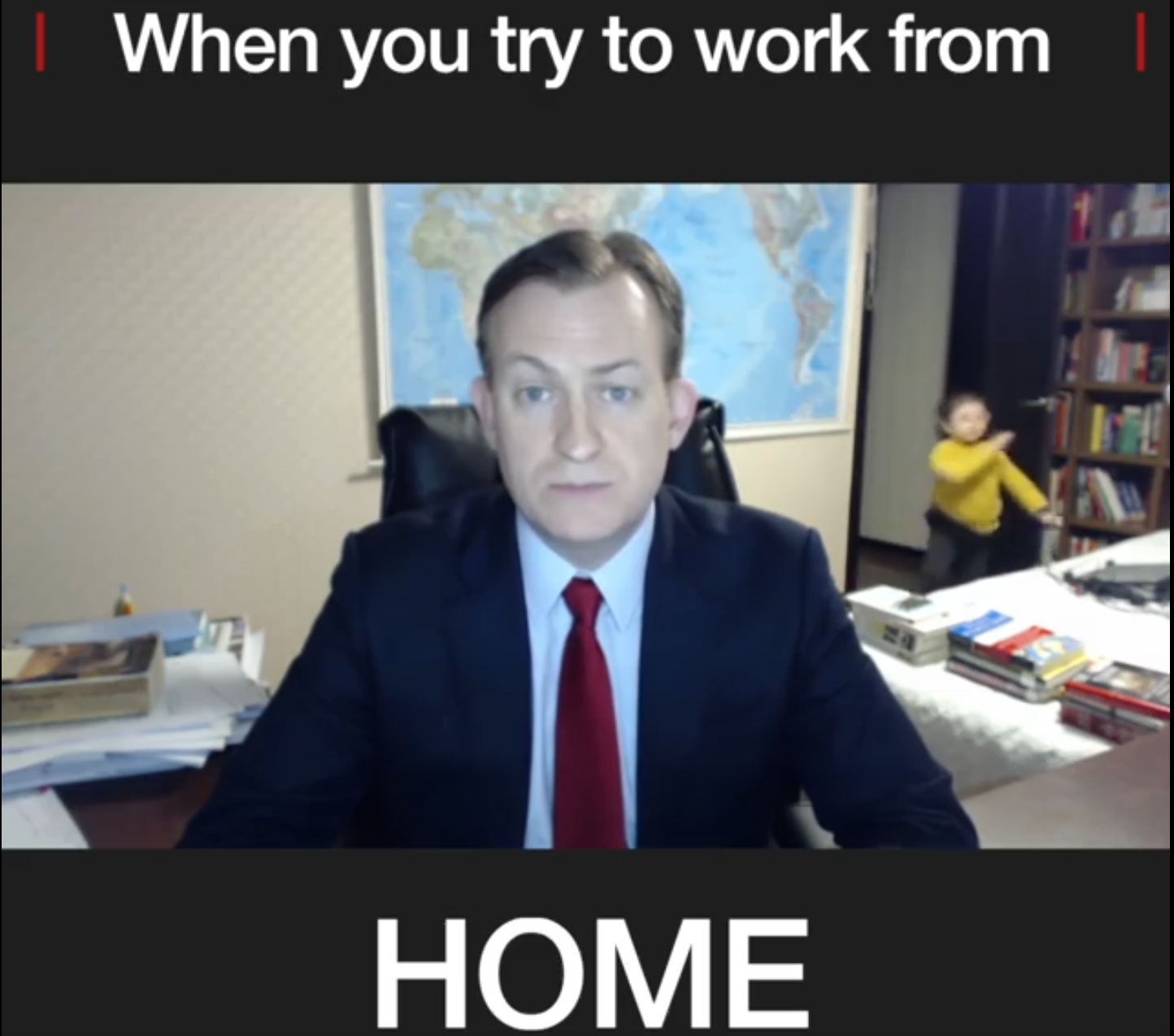 When you Try to Work from Home