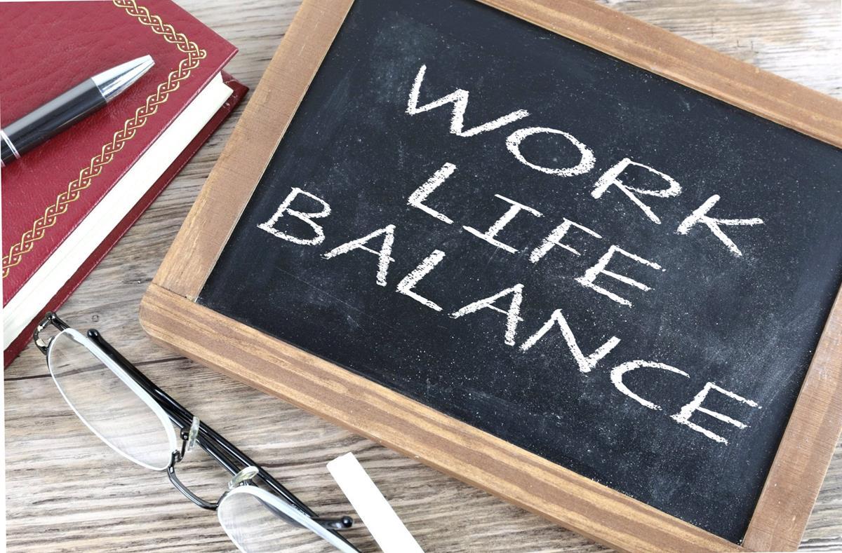 Home-working improves work-life balance